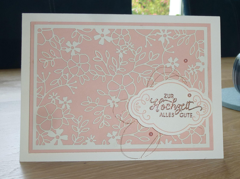 Hochzeitskarten Stampin Up  Hochzeitskarten Fantastisch Filigran