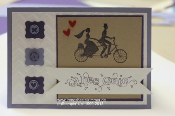 Hochzeitskarten Stampin Up  Hochzeitskarten Archive Stampin Up Anleitungen Ideen
