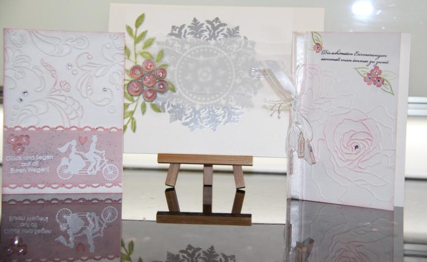 Hochzeitskarten Stampin Up  Stampin UP Hochzeitskarten – Delias Paperworld