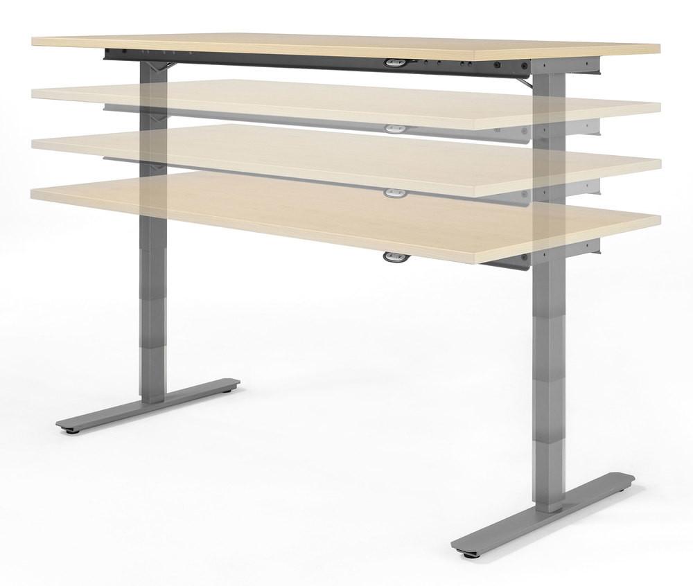 Höhenverstellbarer Schreibtisch Elektrisch  Büromöbel Elektrisch höhenverstellbarer Schreibtisch