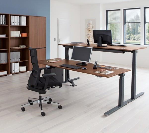"""Höhenverstellbarer Schreibtisch Elektrisch  Elektrisch höhenverstellbarer Schreibtisch """"CREW"""""""