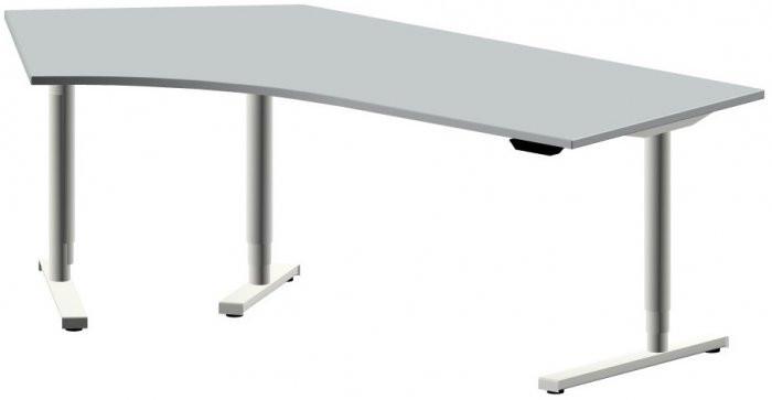 Höhenverstellbarer Schreibtisch Elektrisch  elektrisch höhenverstellbarer Schreibtisch STYLE