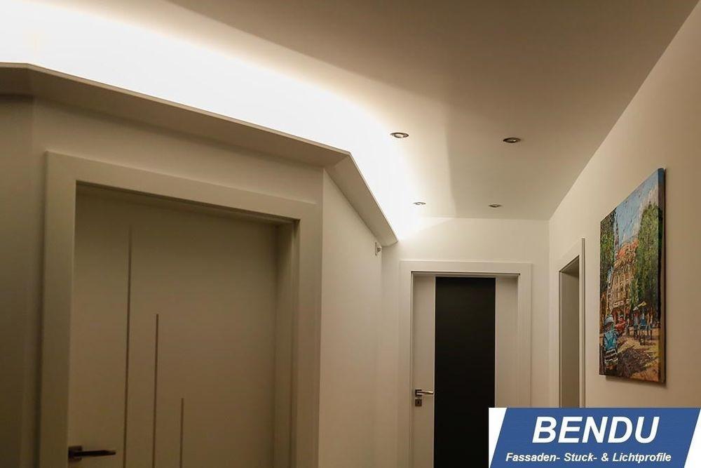 Indirekte Beleuchtung Decke  20m LED Stuckleisten Lichtvouten indirekte Beleuchtung