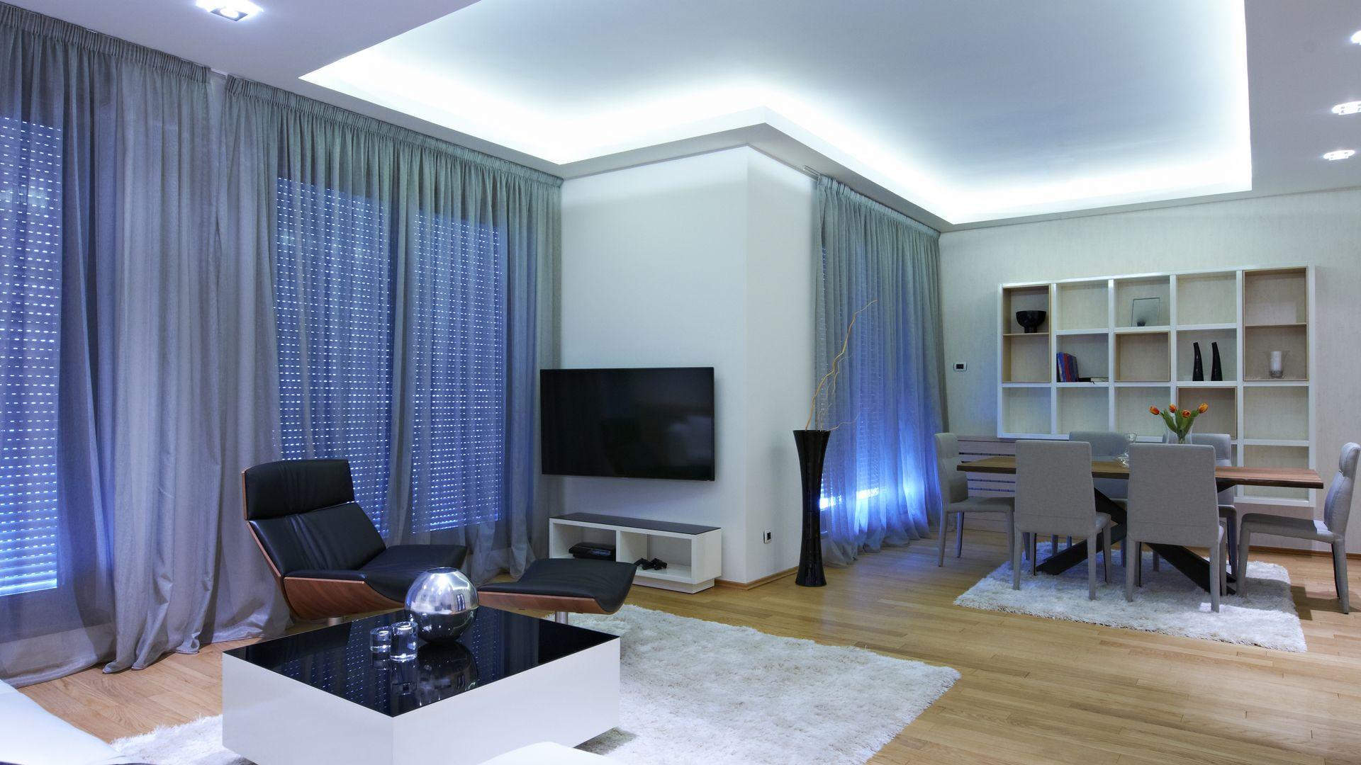 Indirekte Beleuchtung Decke  Indirekte Beleuchtung an Wand & Decke selber bauen