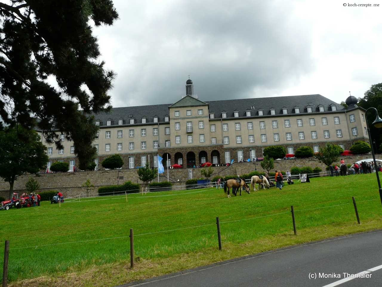 Kardinal Schulte Haus Bensberg  Bergische Landpartie Bensberg 2013 Bauernmarkt der Vielfalt