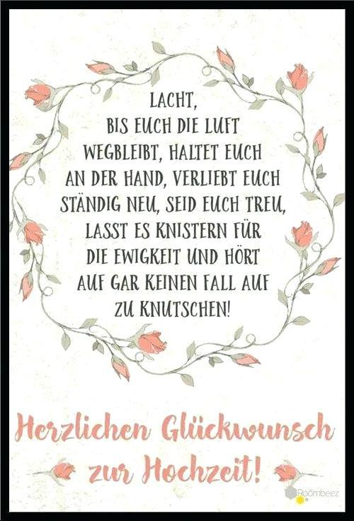 Karte Spruch Hochzeit  Karten Spruche Bestes Von Hochzeit Karten Spra 1 4 Che