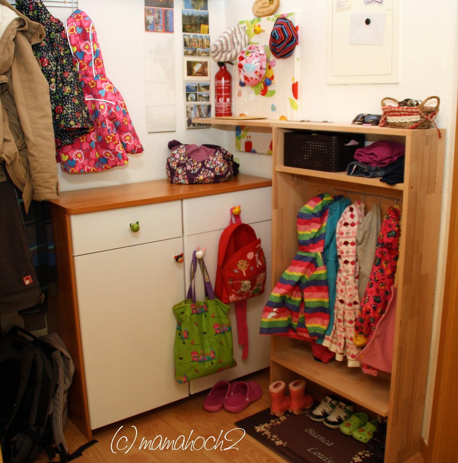 Kindergarderobe Diy  DIY Kindergarderobe ⋆ Mamahoch2