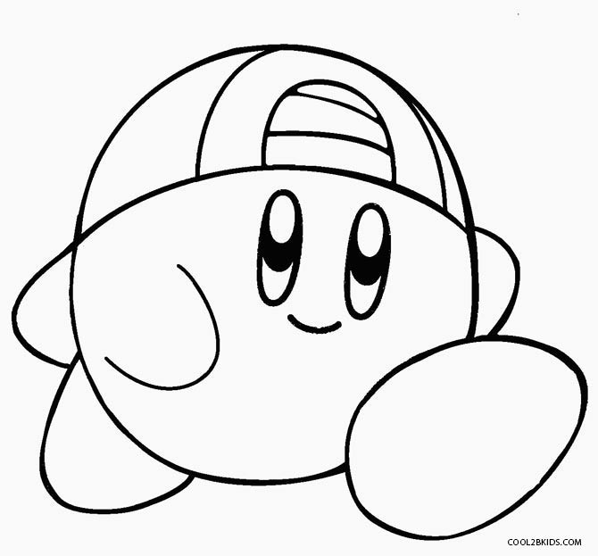Kirby Ausmalbilder  Printable Kirby Coloring Pages For Kids