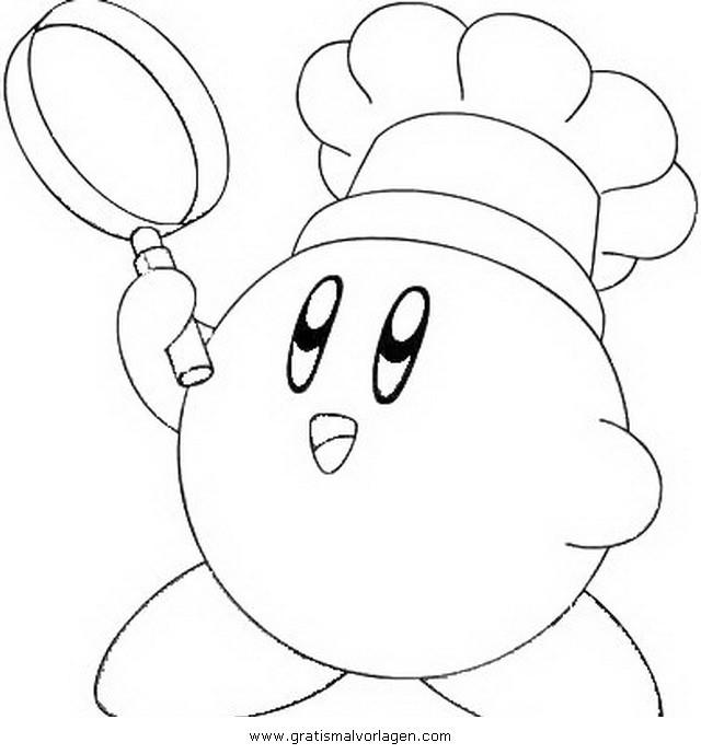 Kirby Ausmalbilder  kirby 8 gratis Malvorlage in Beliebt03 Diverse