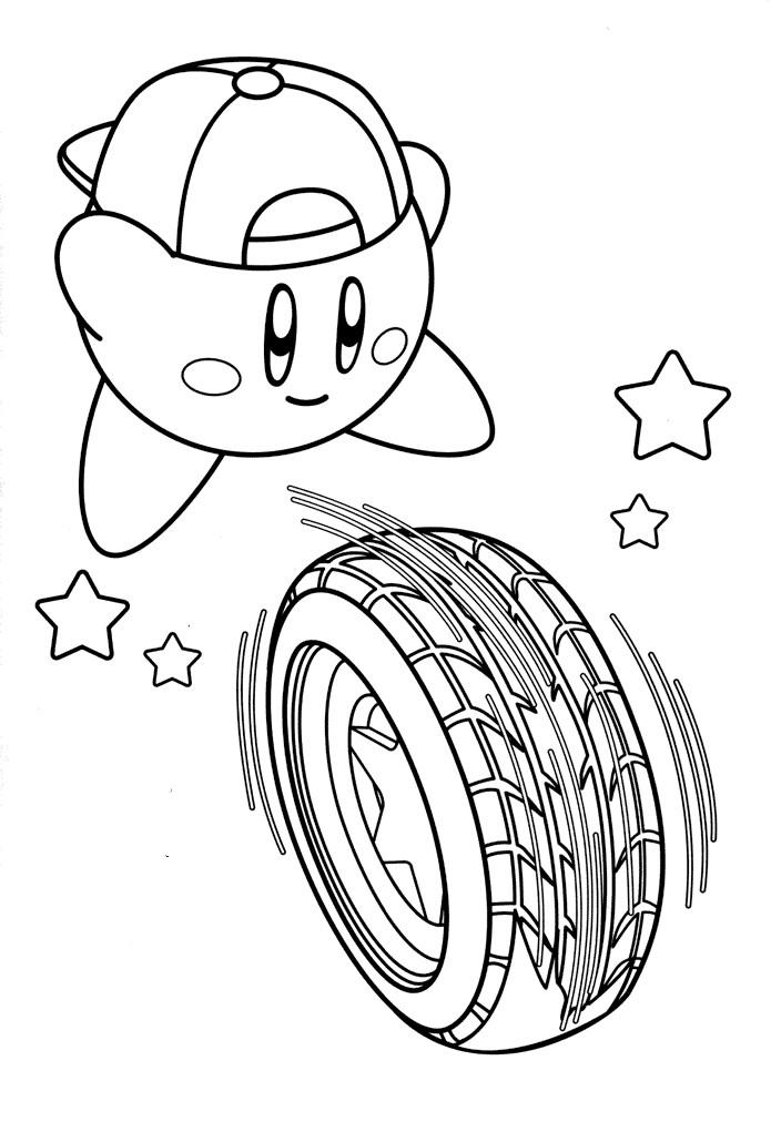 Kirby Ausmalbilder  kirby ausmalbilder zum ausdrucken Malvorlagentv