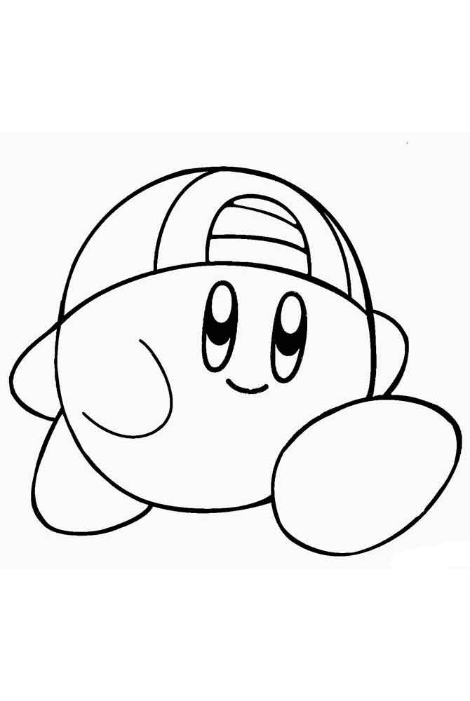 Kirby Ausmalbilder  Kirby coloring pages Free Printable Kirby coloring pages