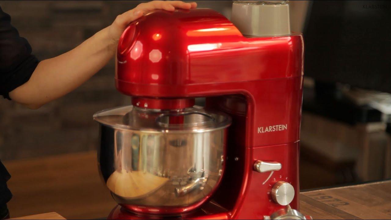Klarstein Küchenmaschine  Falafelbällchen mit der Klarstein Lucia Rossa