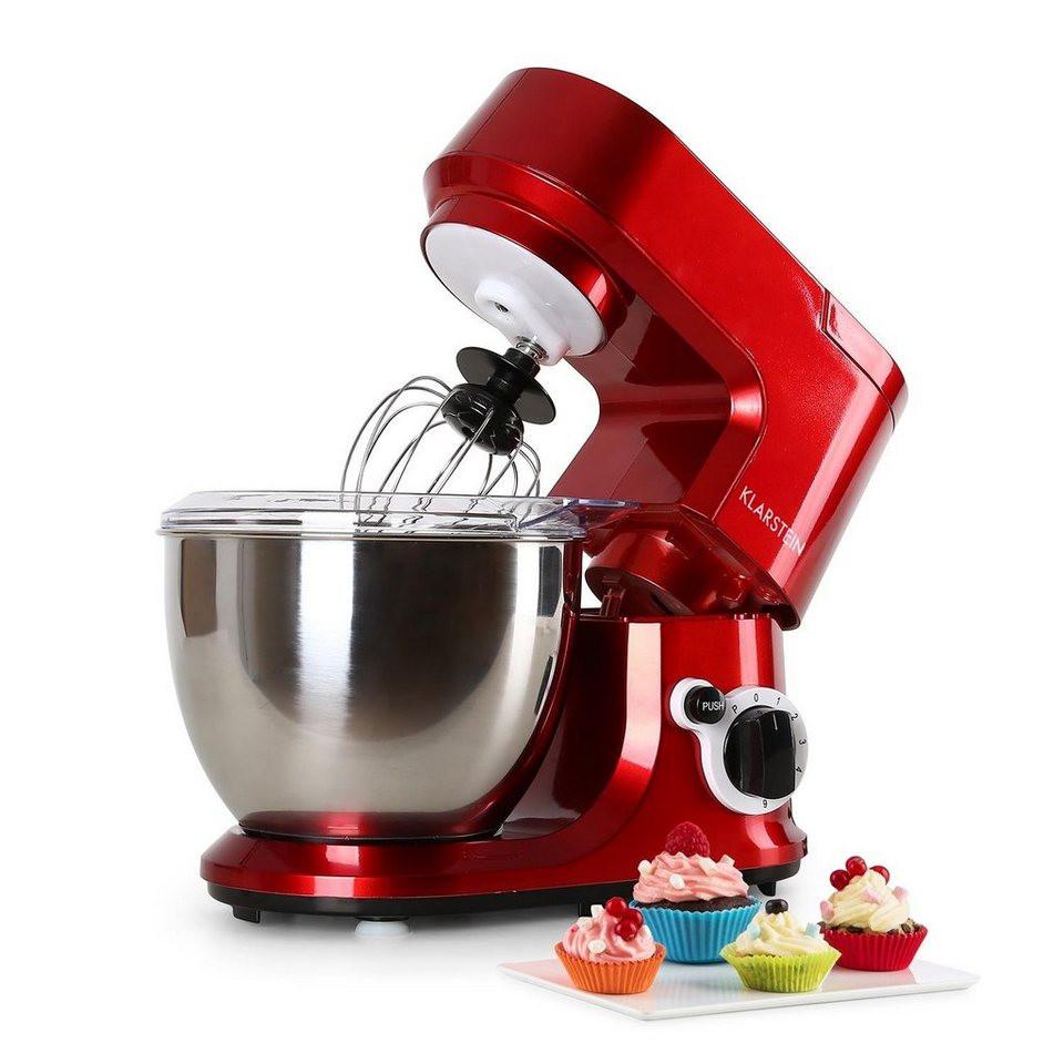 Klarstein Küchenmaschine  Klarstein Küchenmaschine Rührmaschine Knetmaschine 4 Liter