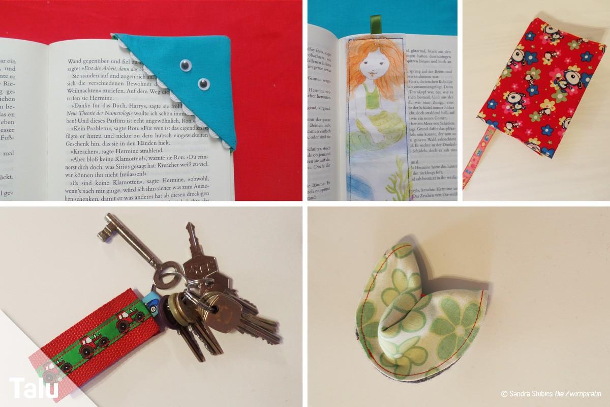 Kleine Geschenke  Kleine Geschenke selber nähen 5 Ideen kostenlose