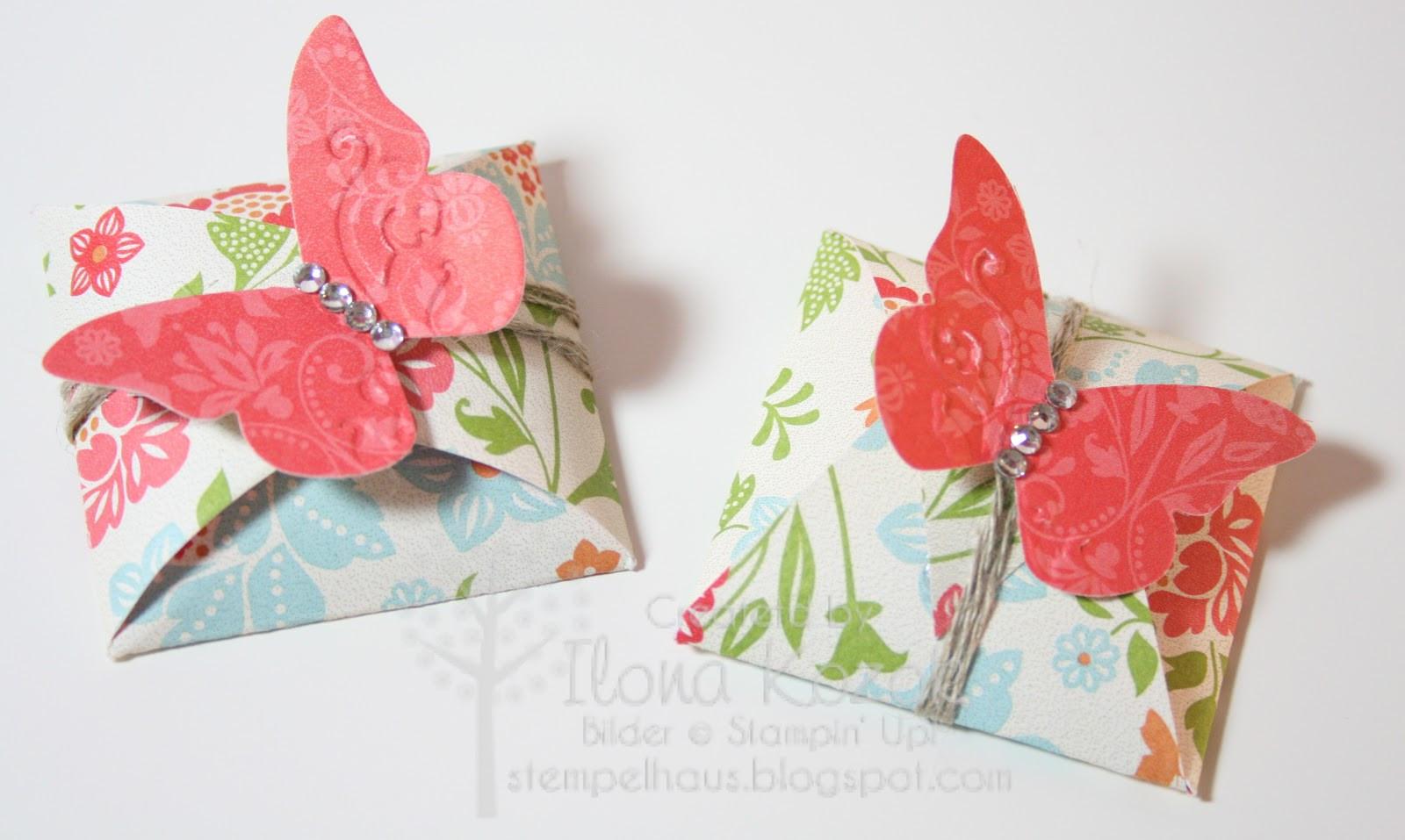 Kleine Geschenke  Stempelhaus Kleine Geschenke mit den SAB Papier