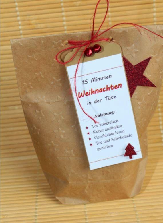 Kleine Geschenke Für Senioren  15 Minuten Weihnachten in der Tüte
