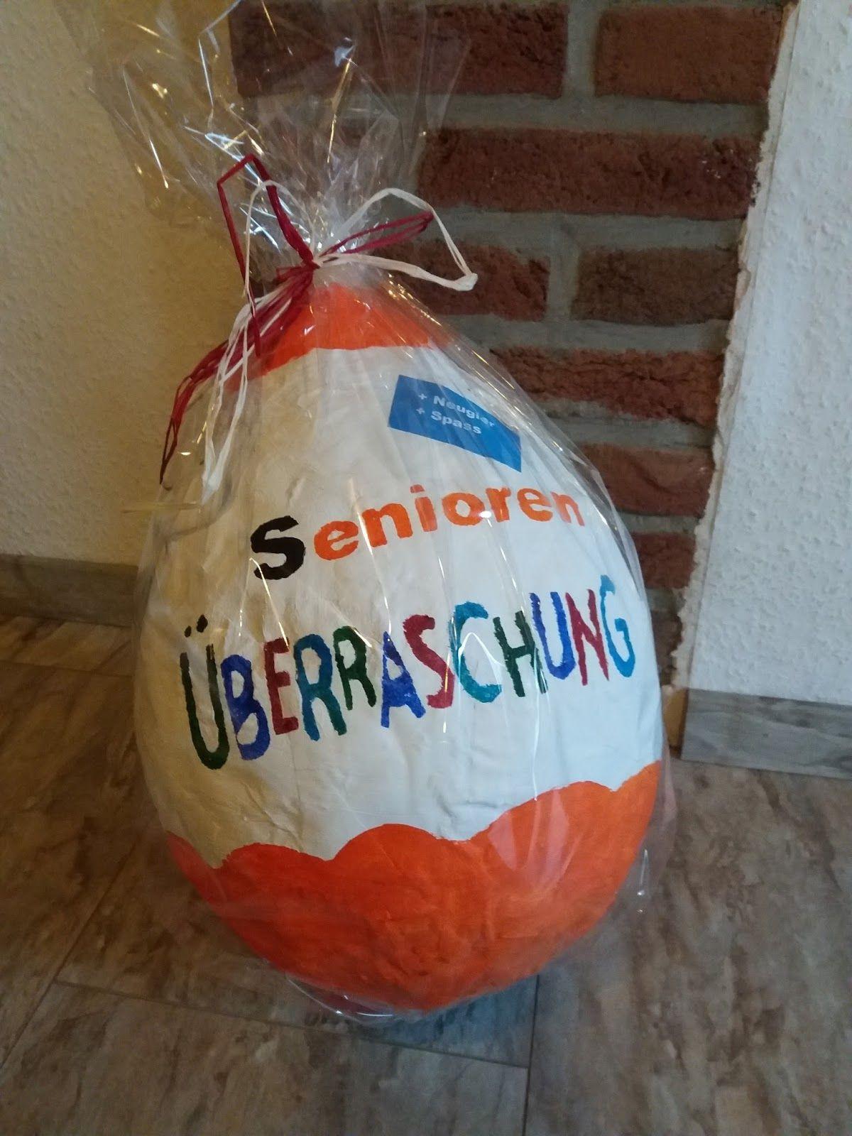 Kleine Geschenke Für Senioren  Senioren Überraschung Kinder Überraschung mal ganz anders