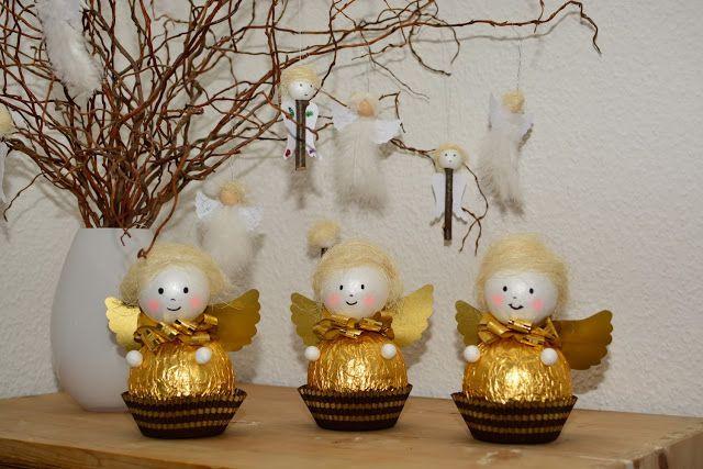 Kleine Geschenke Für Senioren  Engel Basteln X Mas