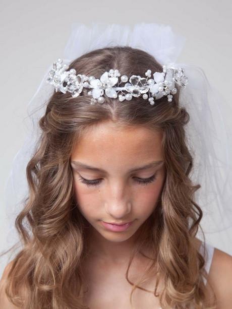 Kommunion Frisuren Mädchen  Kommunion frisuren lange haare