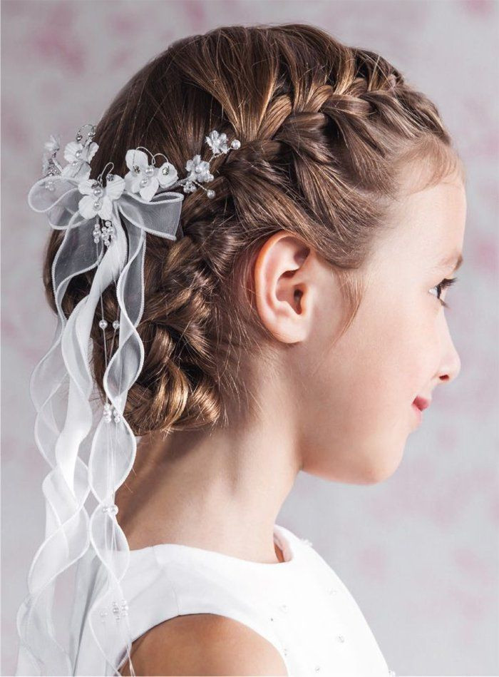 Kommunion Frisuren Mädchen  Passende Kommunion Frisuren können also sehr