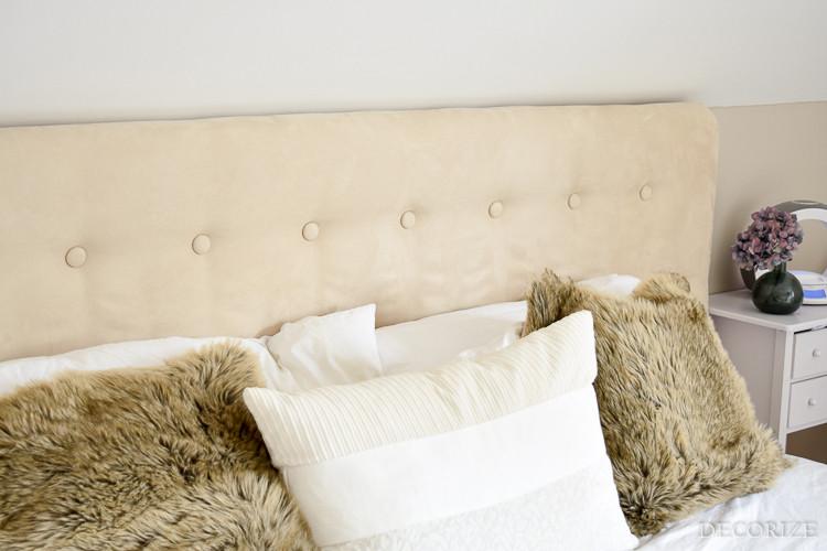 Kopfteil Bett Diy  Aufgemöbelt DIY Ein Kopfteil fürs Bett Decorize