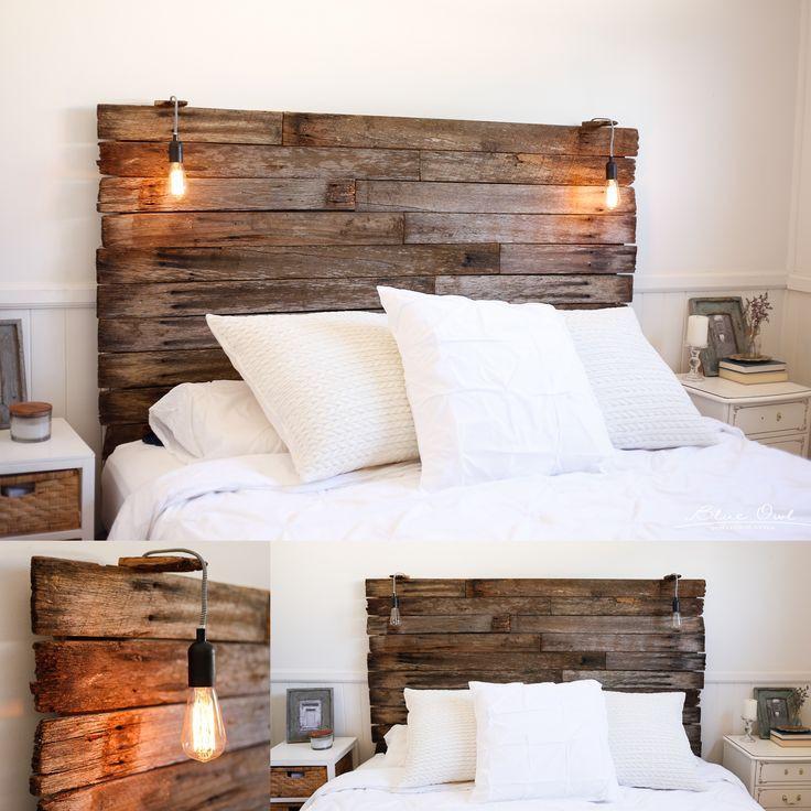 Kopfteil Bett Diy  Die besten 25 Kopfteil bett Ideen auf Pinterest