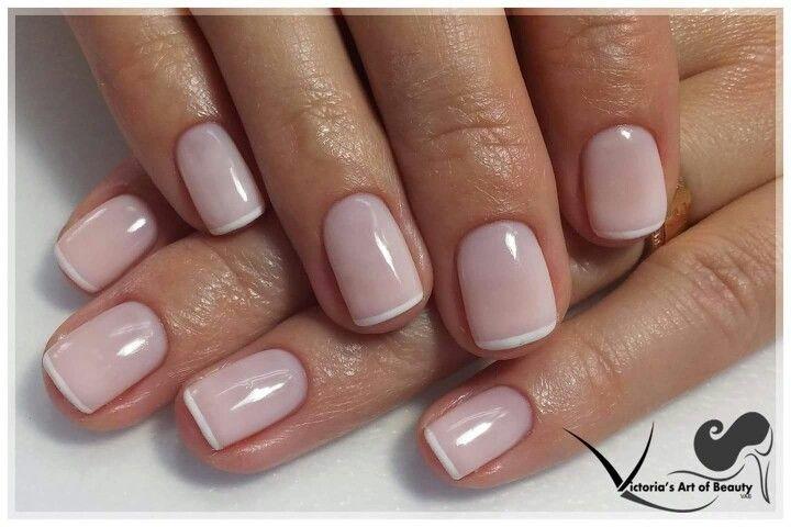 Kosten Maniküre  Gel nails French manicure Gentle Natural nails