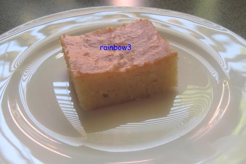 Kuchen Mit Grieß  Backen Dinkel Joghurt Grieß Kuchen mit Sirup Rezept