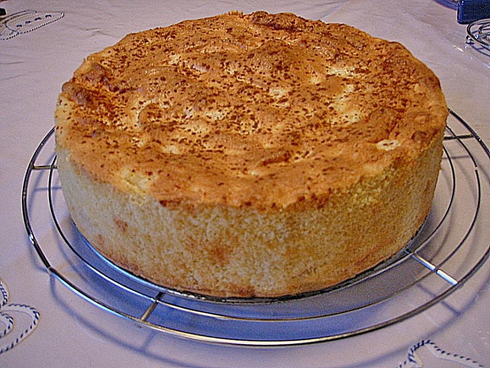 Kuchen Mit Grieß  Apfel Grieß Kuchen Rezept mit Bild von sternenfeld