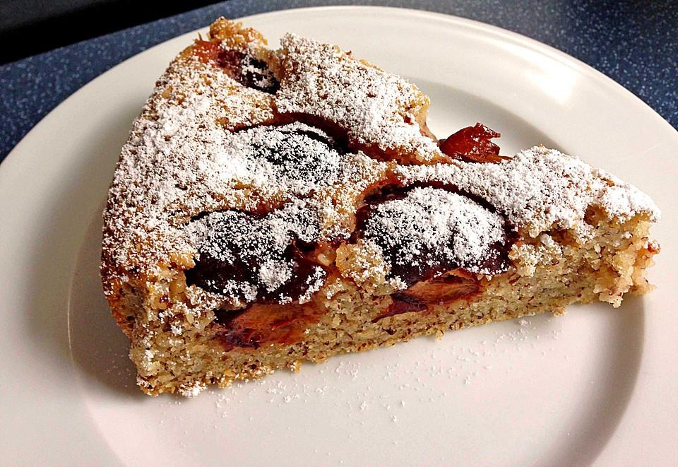 Kuchen Mit Grieß  Pflaumen nuss kuchen Rezepte