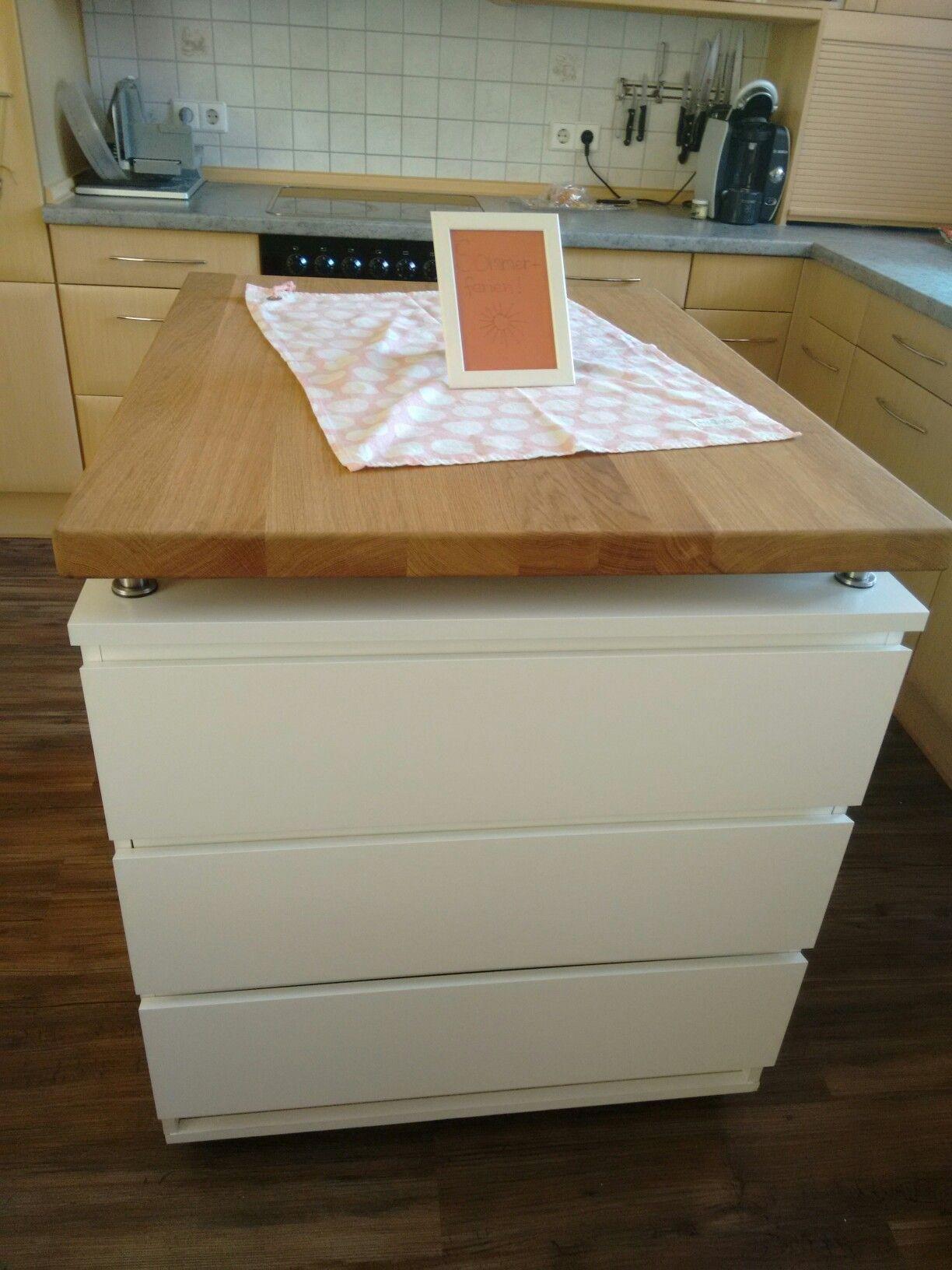 Kücheninsel Diy  Ikea Kücheninsel Küche