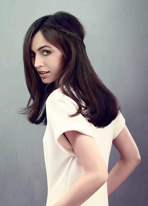 Lange Haare Frisuren  Lange Haare Frisuren schnell Bilder Madame