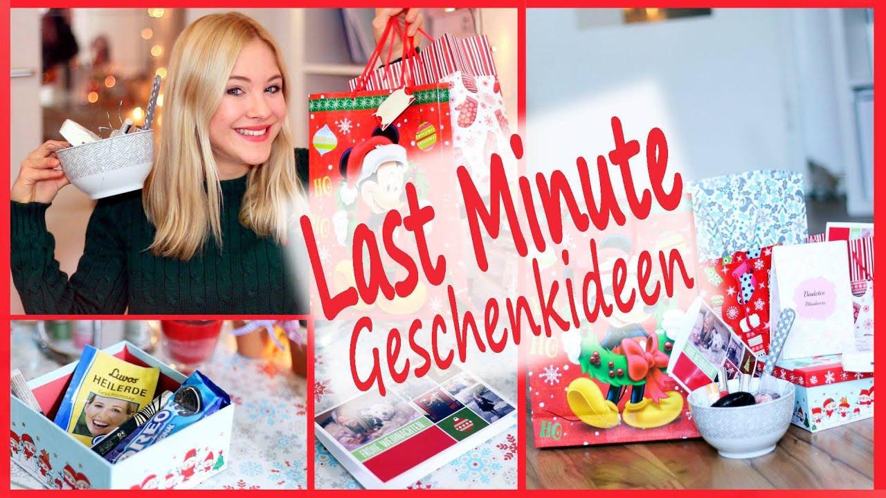 Last Minute Geschenk Diy  günstige LAST MINUTE GESCHENKIDEEN ohne DIY für Freunde