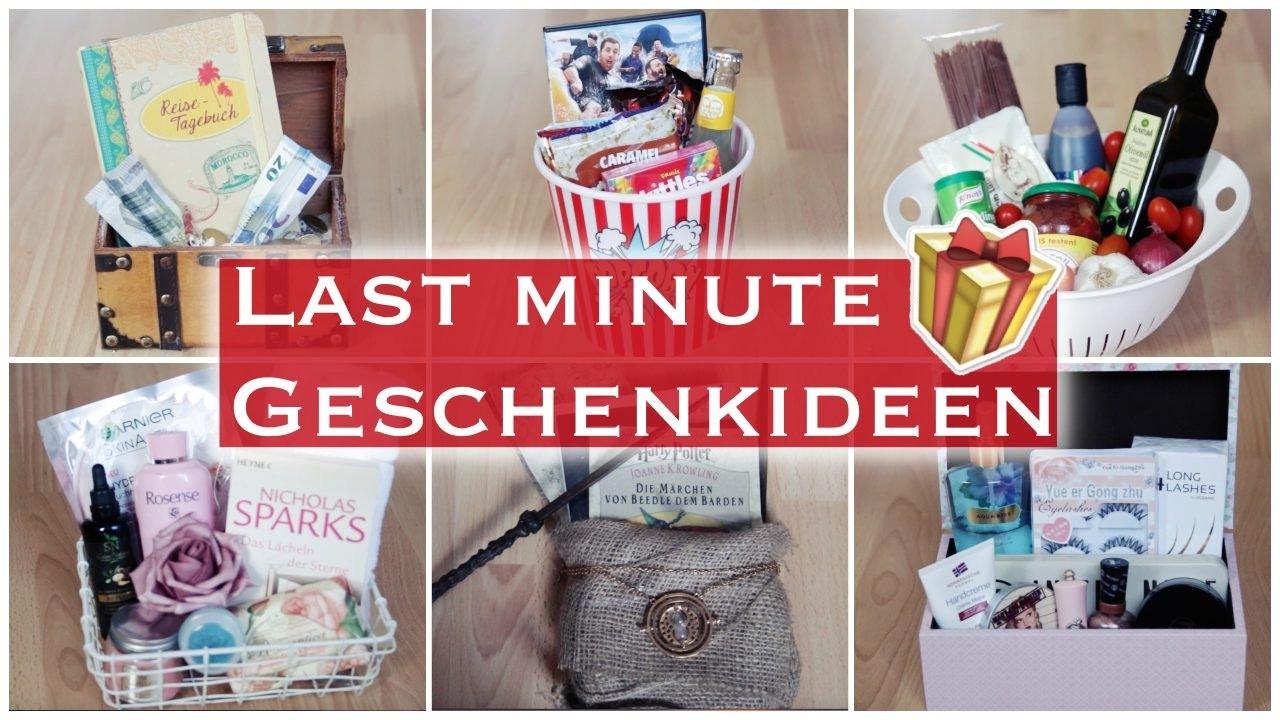 Last Minute Geschenk Diy  LAST MINUTE GESCHENKIDEEN 11 DIY GESCHENKBOXEN FÜR JEDEN
