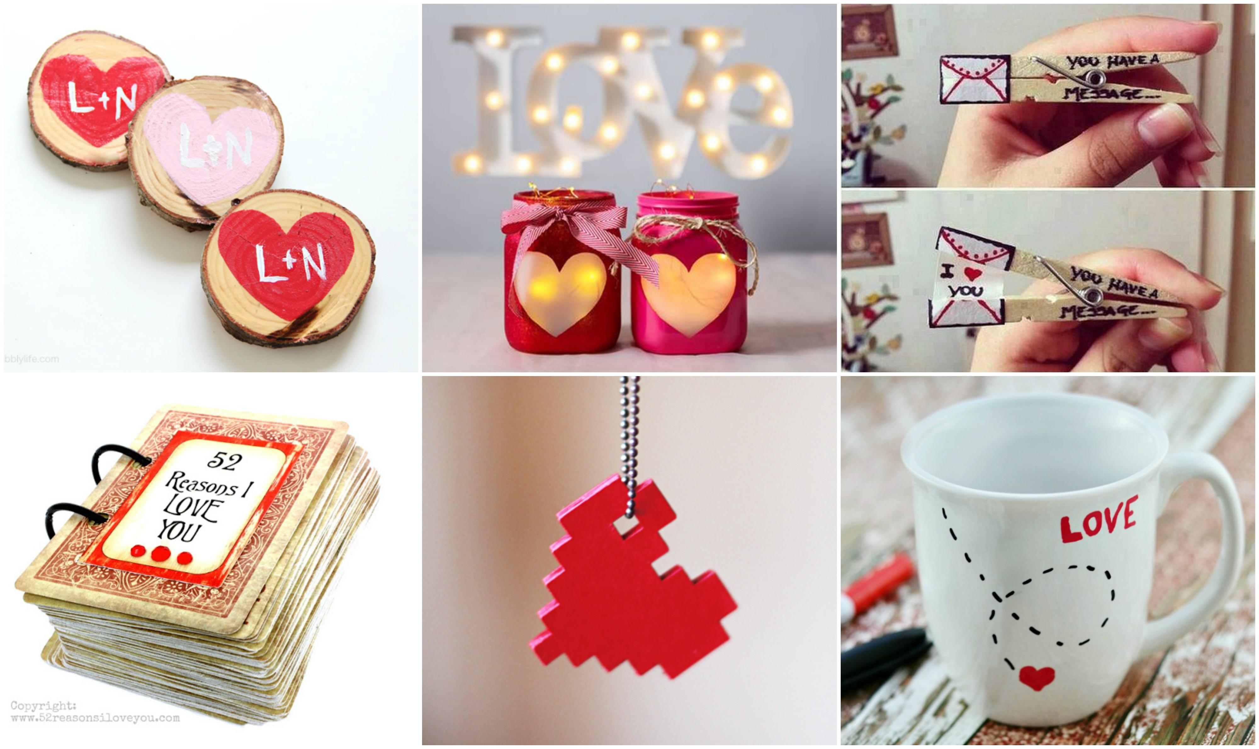 Last Minute Geschenk Diy  15 Last Minute DIY Geschenke zum VALENTINSTAG für eure