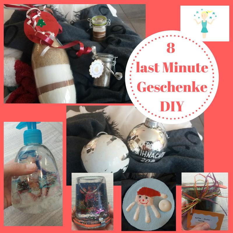 Last Minute Geschenk Diy  8 tolle last Minute Geschenke für Familie und Freunde