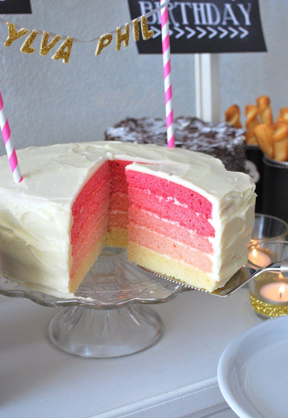 Leckere Geburtstagstorte  mamas kram Geburtstagstorte Geburtstagsparty