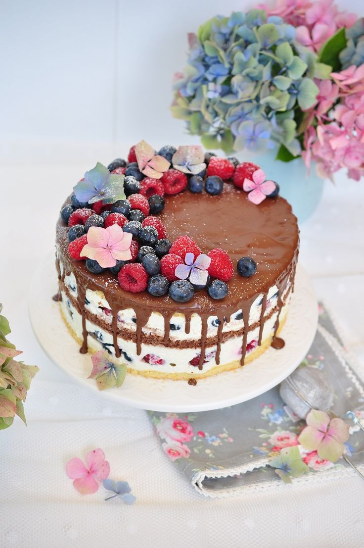Leckere Geburtstagstorte  Die besten 25 Geburtstagstorte Ideen auf Pinterest