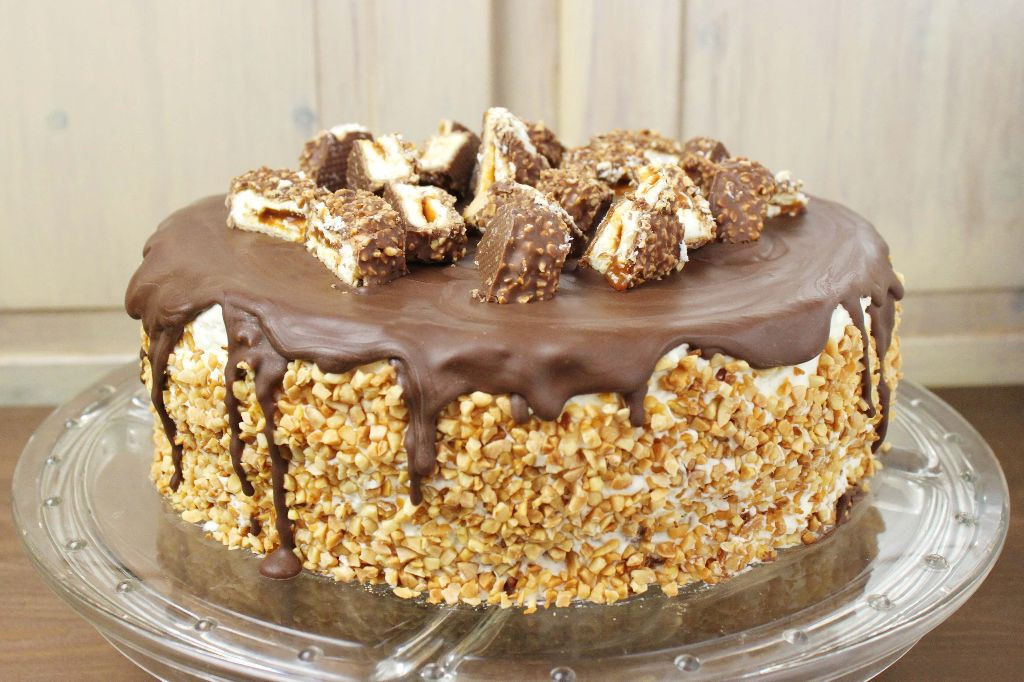 Leckere Geburtstagstorte  Kuchen Torten Schnell Gemacht