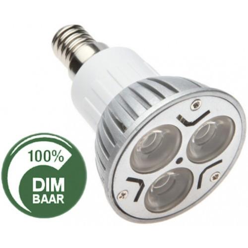 Led Lampen E14  LED lampen 3x2 watt E14 fitting