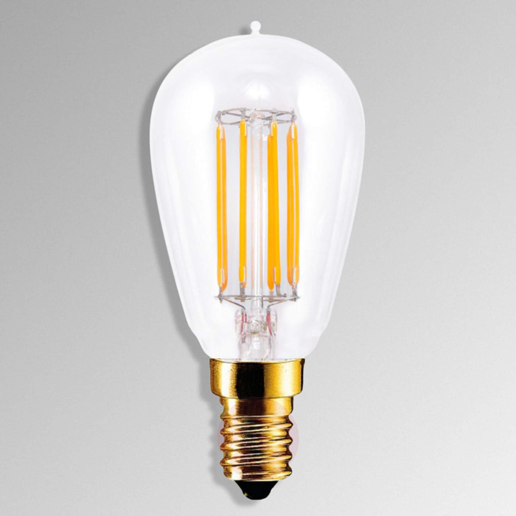 Led Lampen E14  E14 4 7W 922 LED lamp in kooldraad look