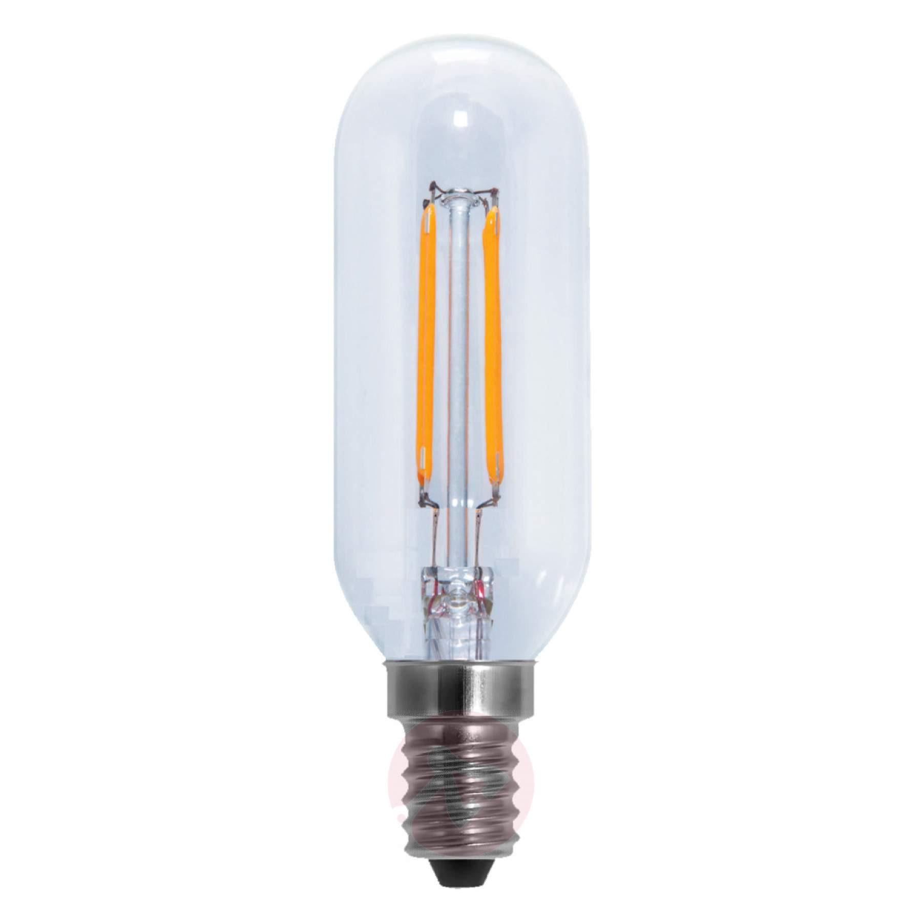 Led Lampen E14  E14 4 1W LED buislamp helder warm wit dimbaar
