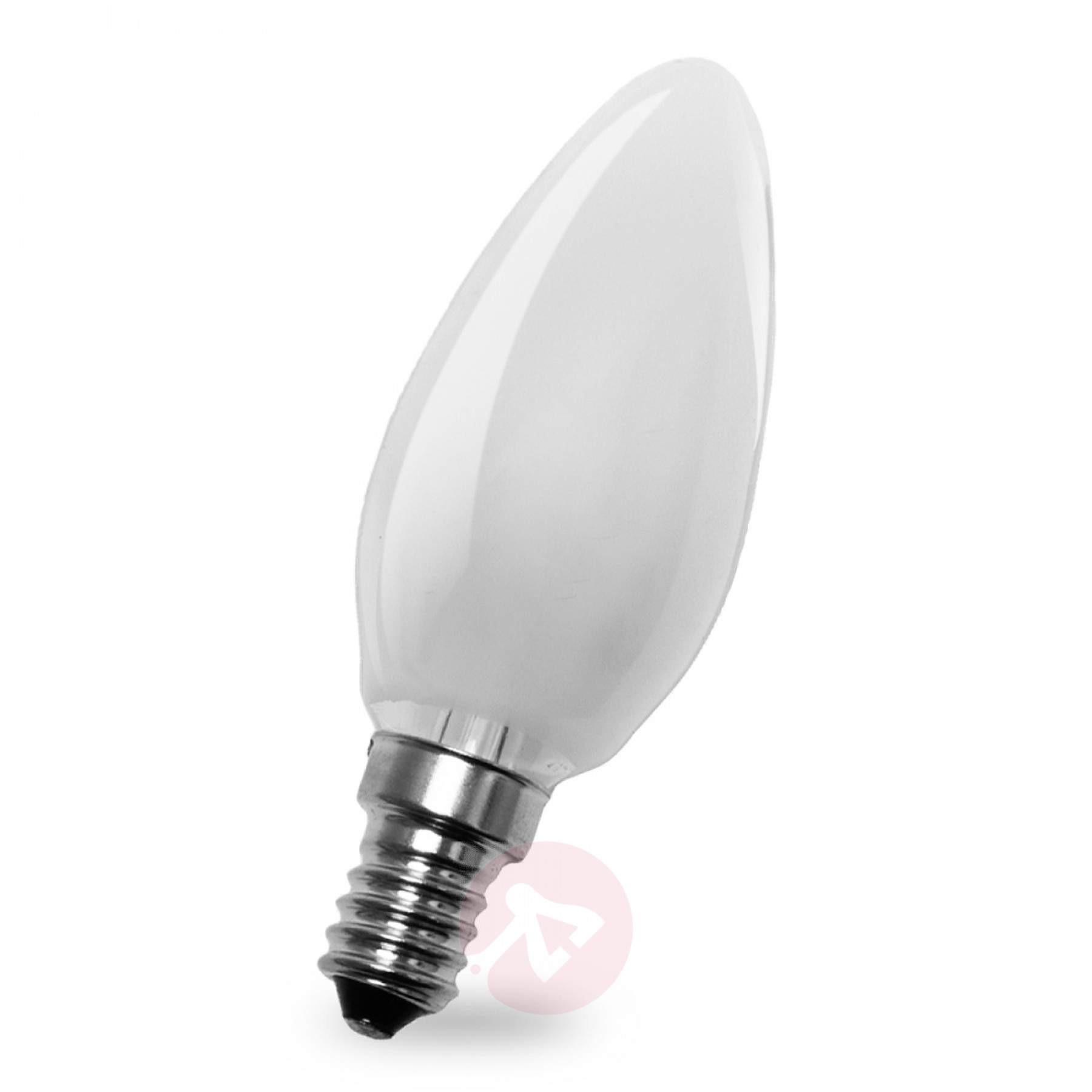 Led Lampen E14  E14 4W 827 LED kaarslamp binnenin mat