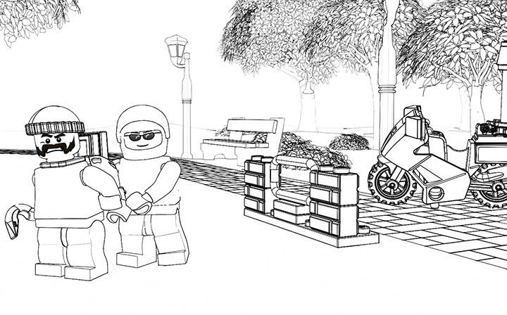 20 besten lego polizei ausmalbilder - beste wohnkultur