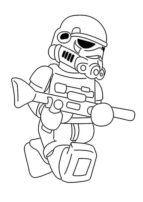 Lego Star Wars Ausmalbilder  Die besten 25 Star wars ausmalbilder Ideen auf Pinterest