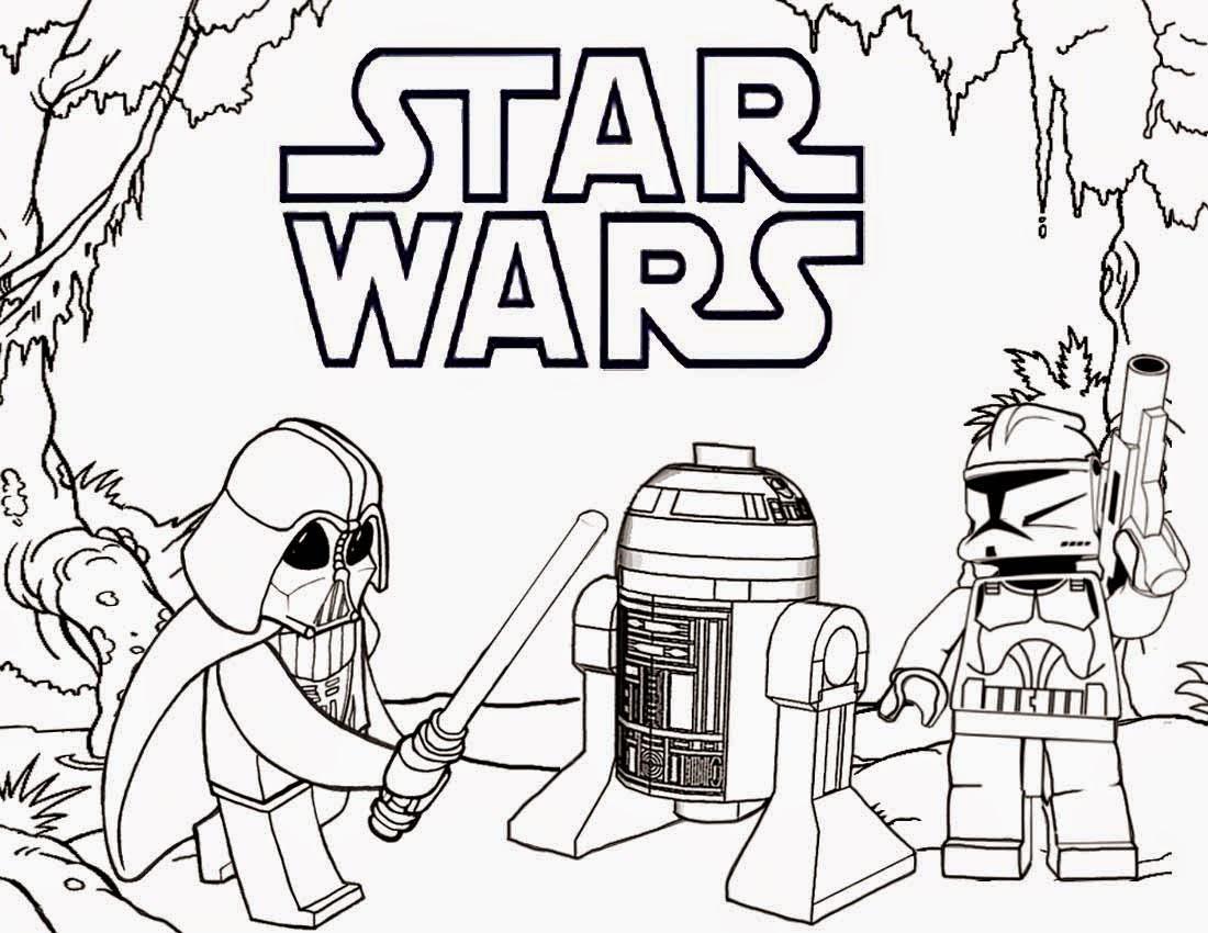 Lego Star Wars Ausmalbilder  Malvorlagen fur kinder Ausmalbilder Lego Star Wars