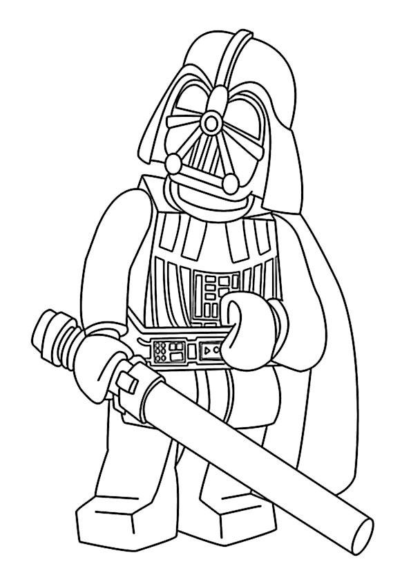 Lego Star Wars Ausmalbilder  star wars lego ausmalbilder 6
