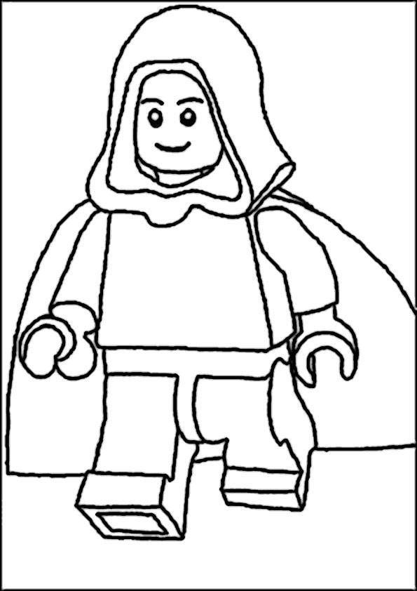 Lego Star Wars Ausmalbilder  ausmalbilder von lego