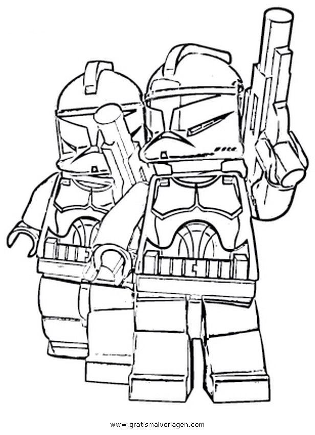Lego Star Wars Ausmalbilder  Ausmalbilder lego star wars trickfilmfiguren 828