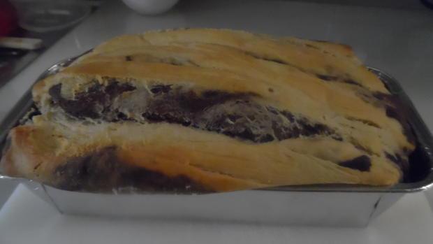 Leoparden Kuchen Rezept  Leoparden Kuchen oder Brot Rezept mit Bild kochbar